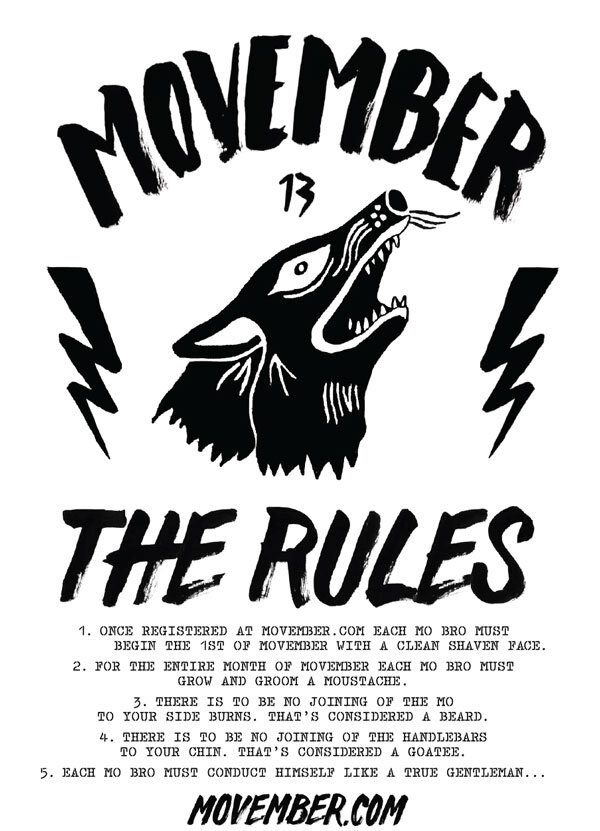 movember-rules