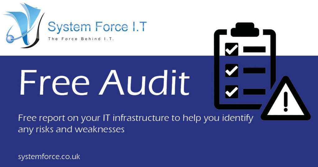 Free audit on your business, analyzing any potential problems within your business!