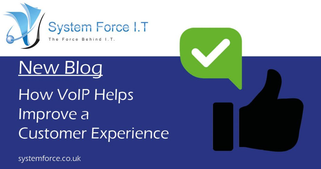 Voice Over IP helps boost and improve sales and the customer experience...