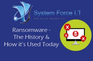 Ransomware The History and How it's Used Today