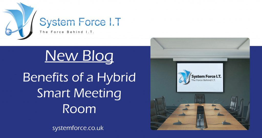 Hybrid Smart Meeting Room Hybrid Smart Meeting Rooms are the next generation of meeting rooms, providing a new level of efficiency and purpose to meetings. Gloucester IT Gloucester 24/7 Support Gloucestershire help IT Help Meeting room